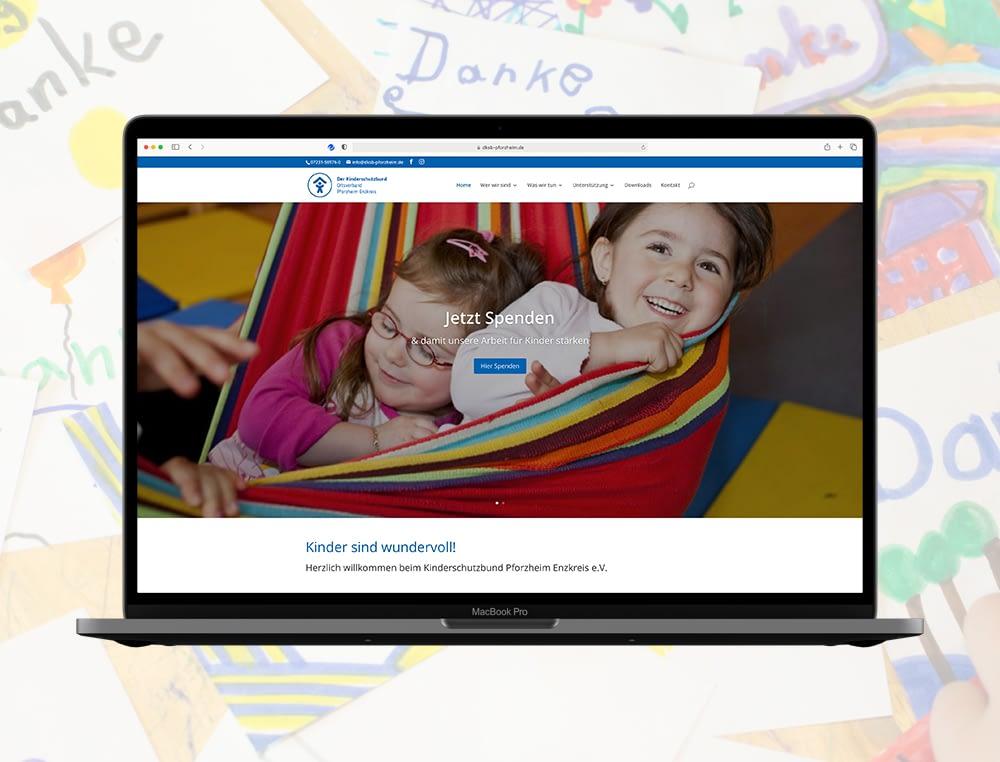 Webseite DKSB