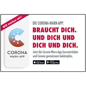 Corona Warn-App Motiv 07 Braucht Dich. Und dich und dich und dich