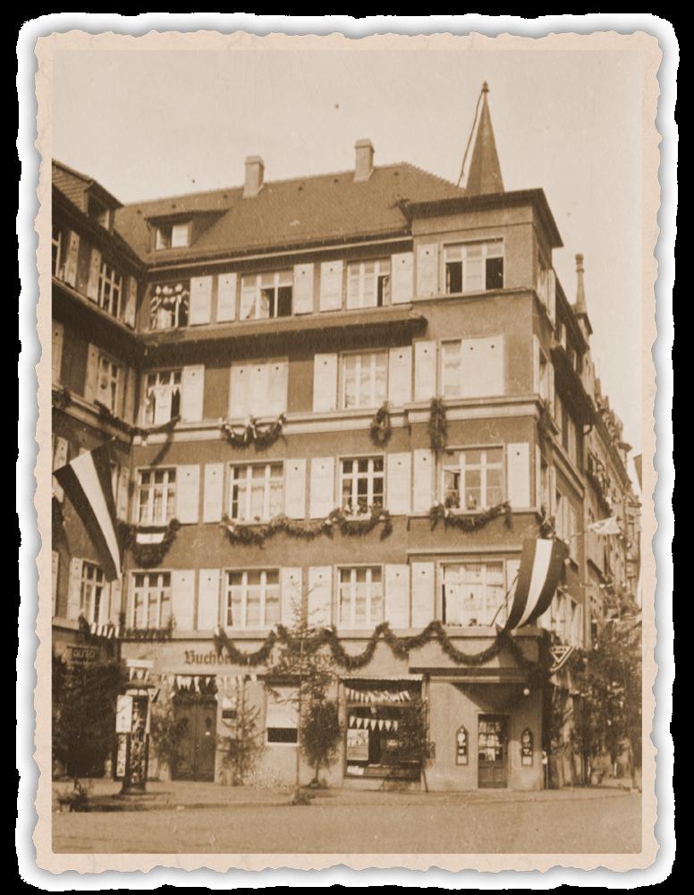 Druckerei Layer vor 1945