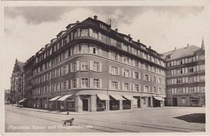 Pforzheim Kreuzstraße Ecke Holzgartenstraße