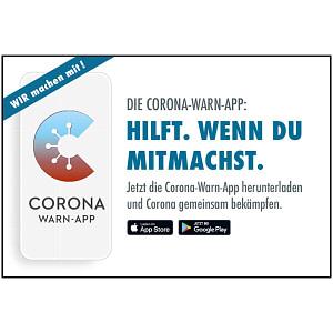 Coroan Warn-App Motiv 06 Hilft. Wenn du mitmachst.